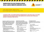 Improving flood forecasting skill using remote sensing data
