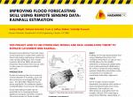 Improving flood forecasting skill using remote sensing data: rainfall estimation