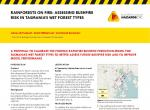 Rainforests on Fire: Assessing Bushfire Risk in Tasmania's Wet Forest Types