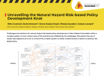 Unravelling the Natural Hazard Risk-based Policy Development Knot
