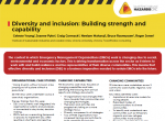 Diversity and inclusion: Building strength and capability