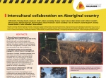 Intercultural collaboration on Aboriginal country