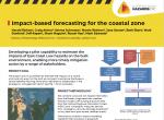 Impact-based forecasting for the coastal zone