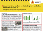 Understanding carbon pools to improve emission estimates from fires