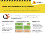 From hectares to tailor-made solutions