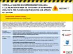 Victorian Bushfire Risk Management Research